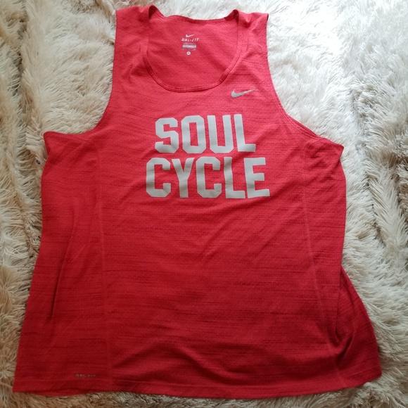 465936ffa0267 Nike Dri-Fit Soul Cycle athletic tank top. M 5b0ad87fa4c485c9cbcca65c.  Other Shirts ...